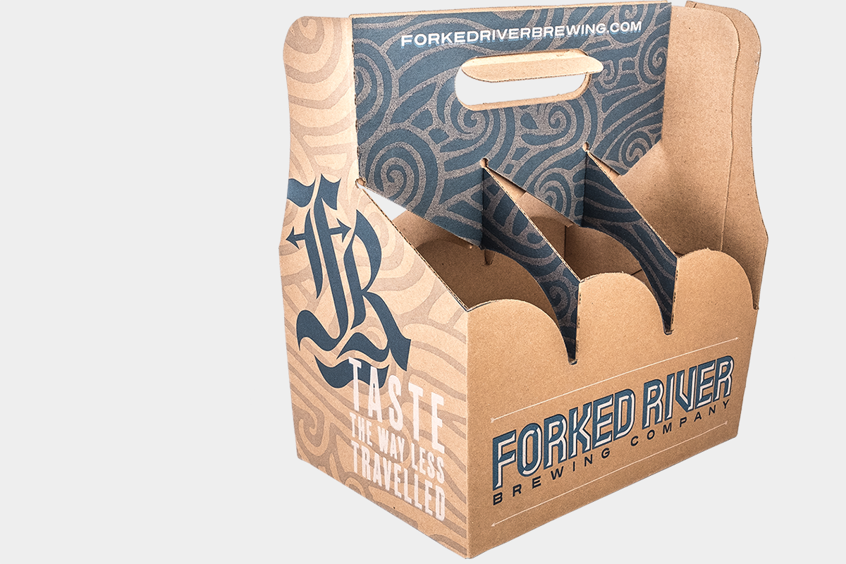 FORKED RIVER packaging